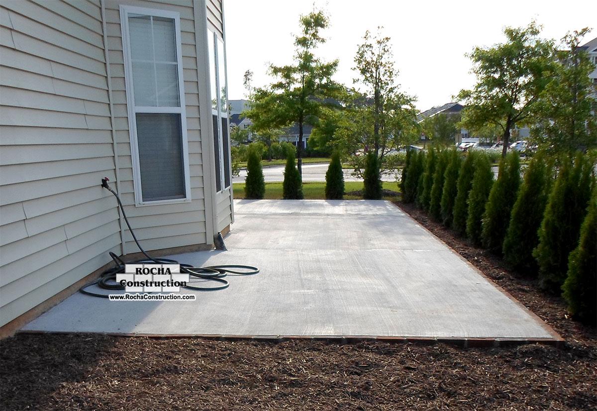 Concrete Patio Work : Concrete patio construction work richmond