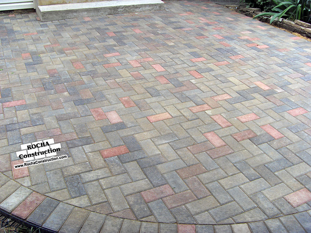 Bon Concrete Paver Patio