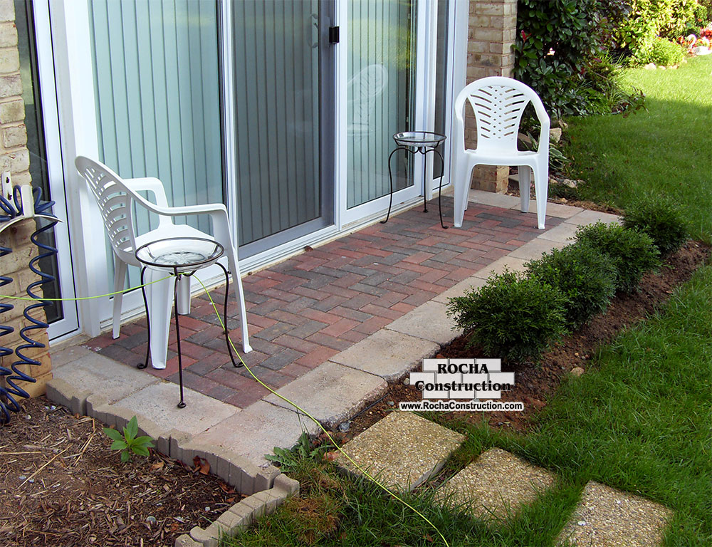 Paver and Brick Patios | Rocha Construction Silver Spring MD on Brick Paver Patio Designs id=35358