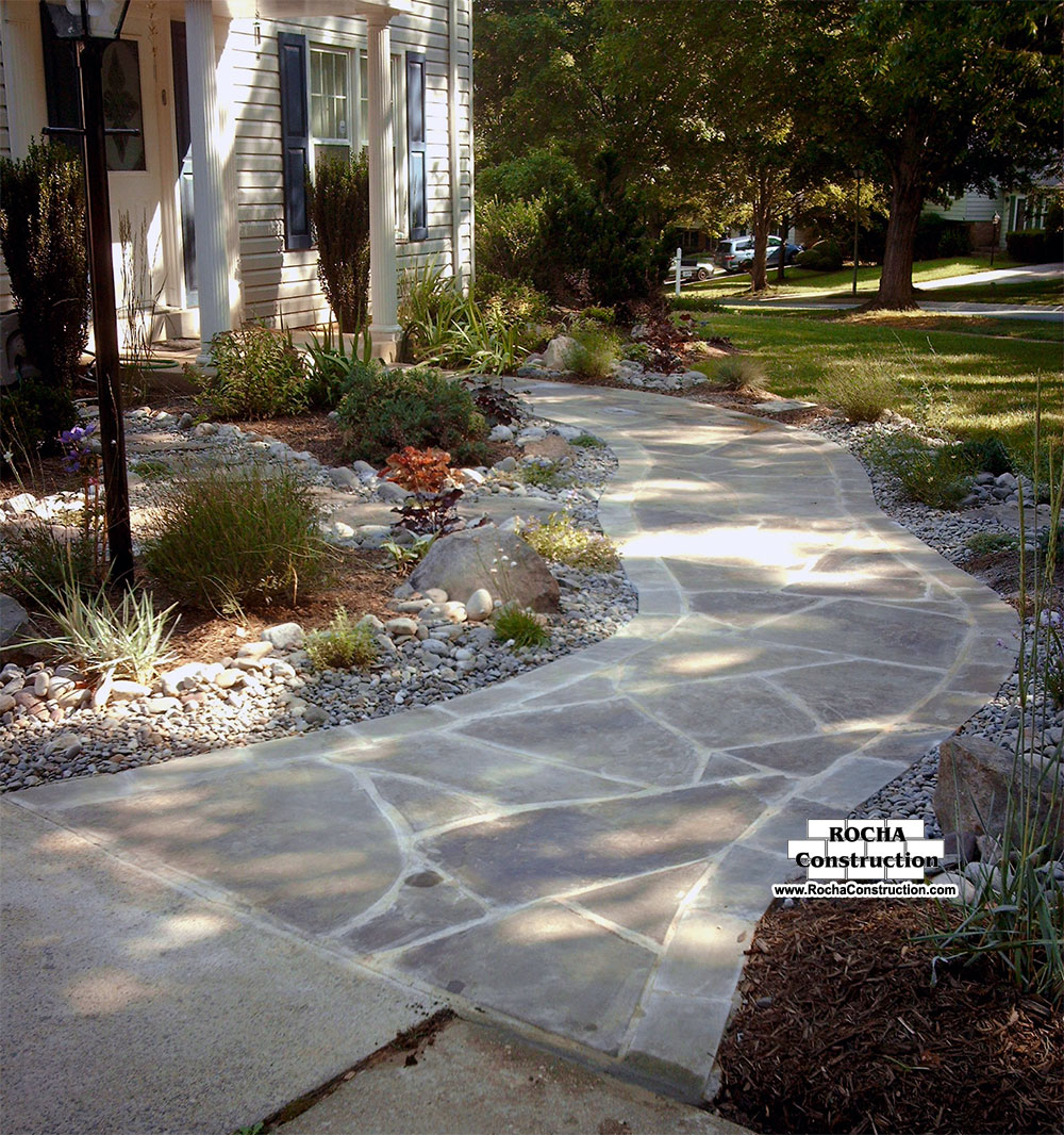 Flagstone Walkway | Rocha Construction Silver Spring MD