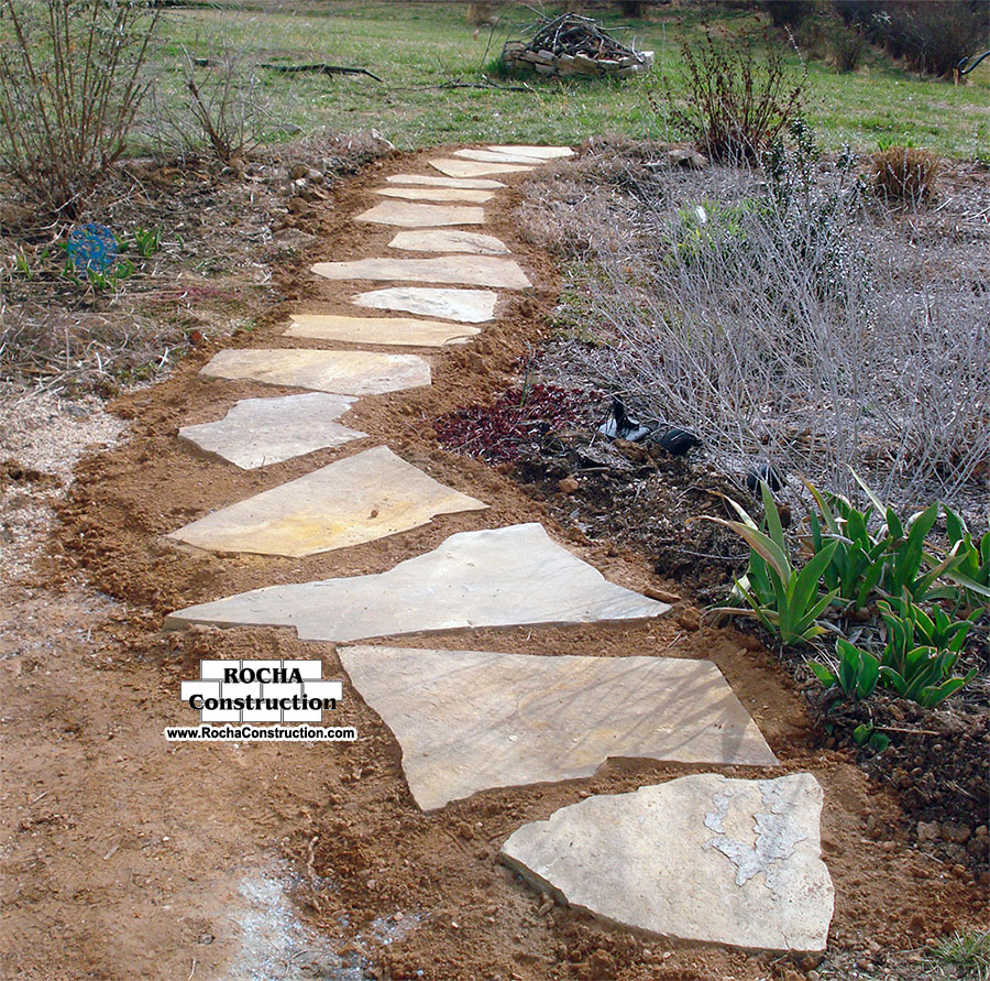 How to create concrete stepping stones apps directories - Stepping stones for walkways ...